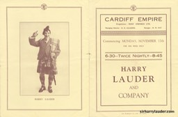 Cardiff Empire Programme Booklet Nov 17 19?? -2