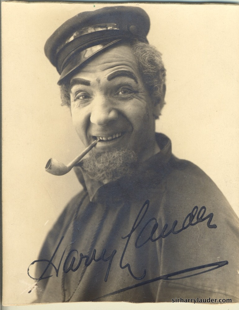 Character Photo Signed & Undated