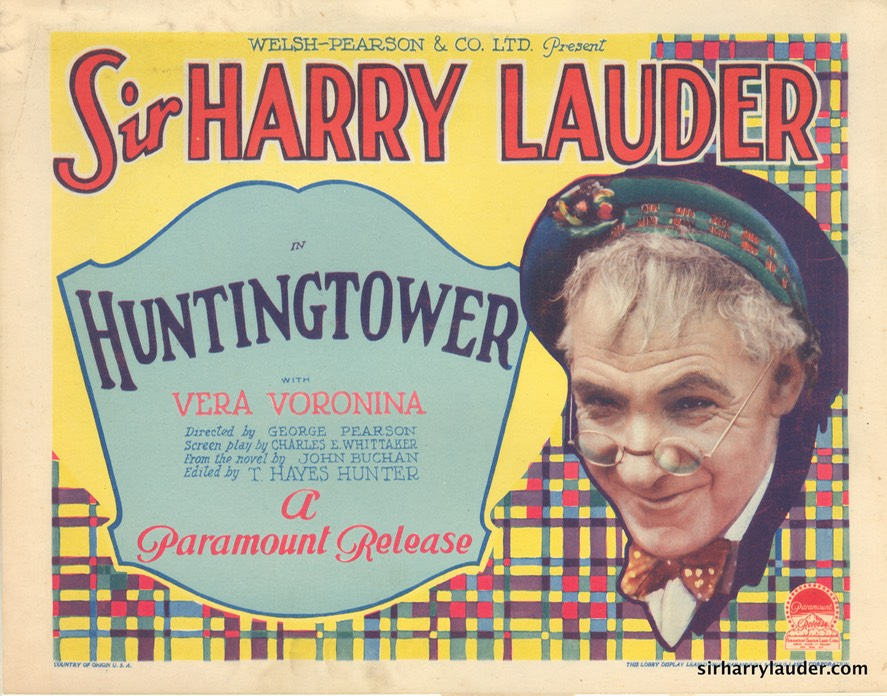 Huntingtower Lobby Card 1