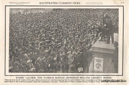 Illustrated Current News Liberty Bonds NY Nov 5 1917