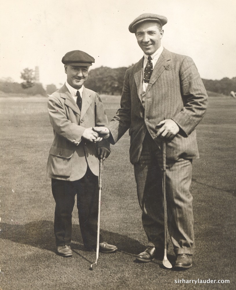 Little Tich and Sir Harry At Richmond Undated
