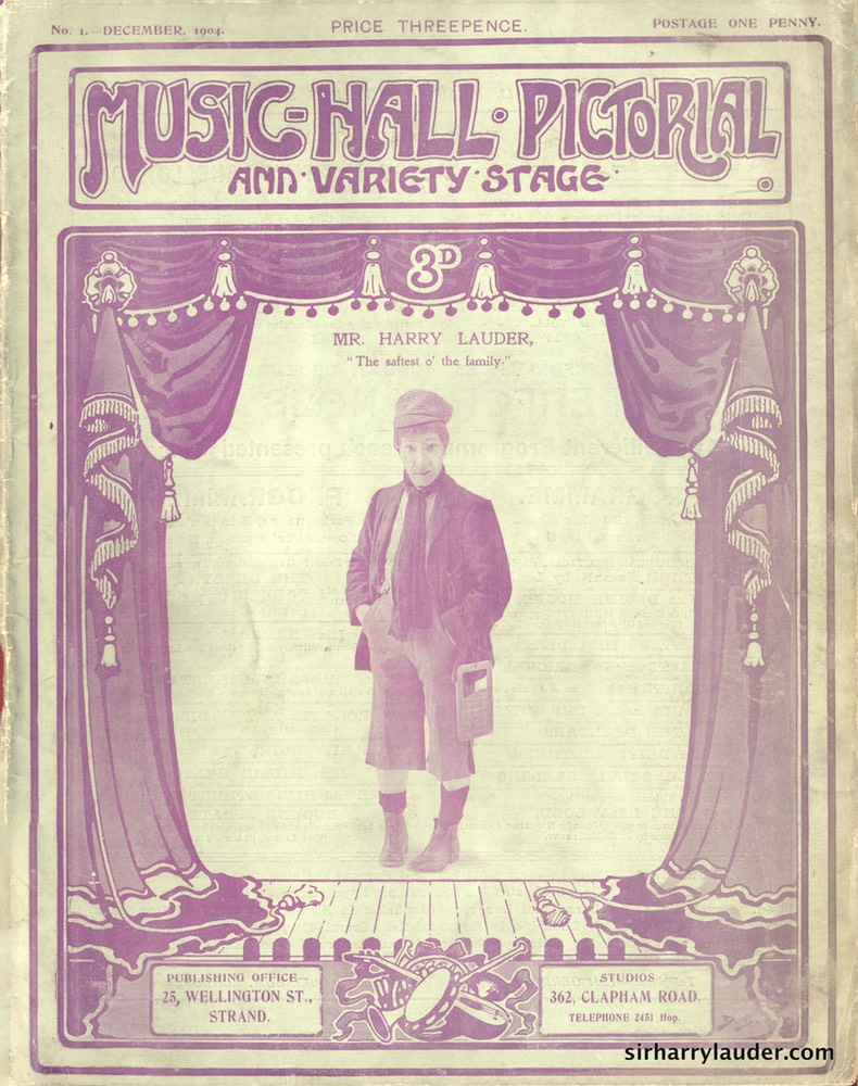 Music Hall Pictorial Magazine Dec 1904