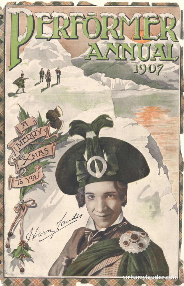 Performer Annual Magazine Cover 1907