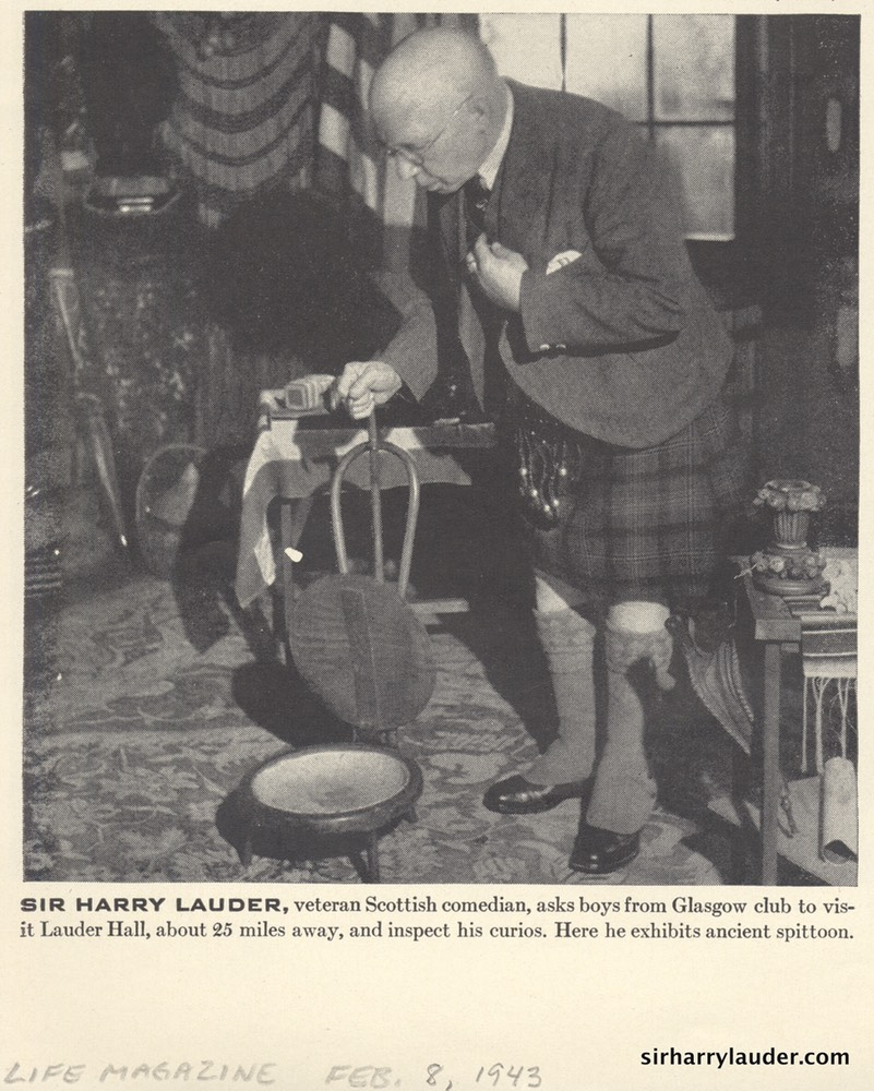 Photo Life Magazine Sir harry At Strathaven Feb 8 1943