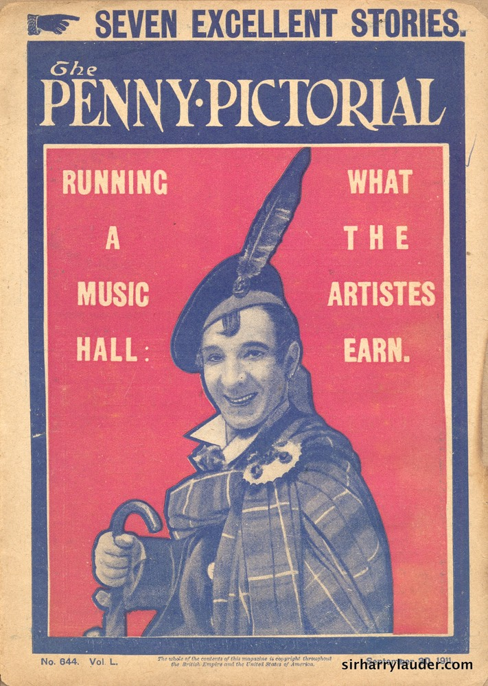 Pulp Magazine Penny Pictorial Sep 30 1911