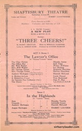 Shaftesbury Theatre London Three Cheers Programme Booklet No 2 1916-17 -3