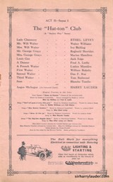 Shaftesbury Theatre London Three Cheers Programme Booklet No 2 1916-17 -5