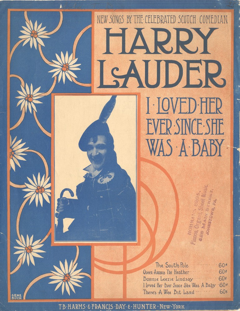 Sheet Music Ive Loved Her Ever Since She Was A Baby TB Harms & Francis Day & Hunter NY 1919**