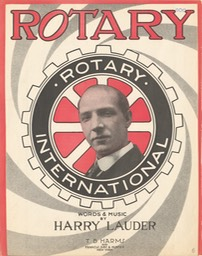 Sheet Music Rotary TB Harms & Francis Day & Hunter NY 1916