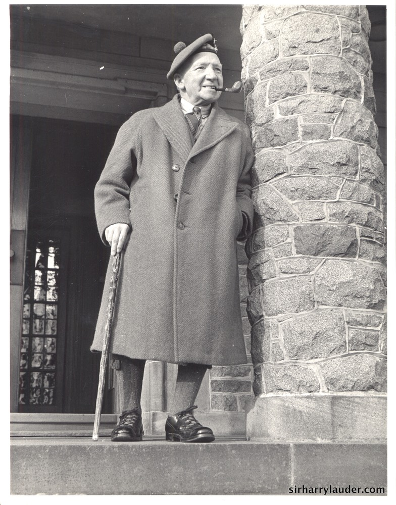 Sir Harry at Lauder Ha' in 1946
