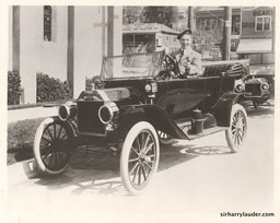 Sir Harry In 1914 Model T Ford**