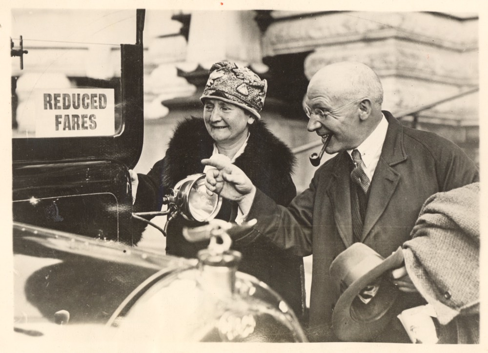Sir Harry Lady Lauder Waterloo London May 11 1927