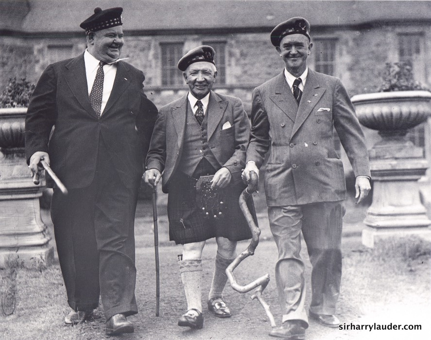 Sir Harry With Laurel and Hardy Lauder Ha 1948