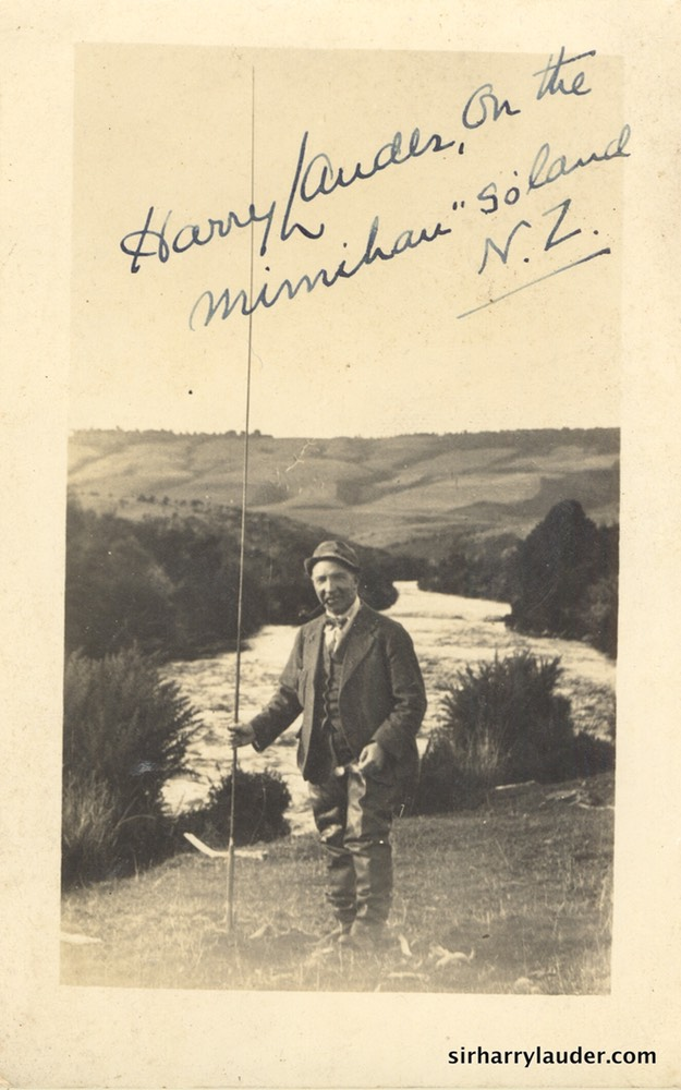 Southland NZ Annotated By Sir Harry Undated