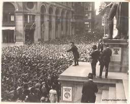 Wall Street Liberty Bond Rally Dated Oct 1917